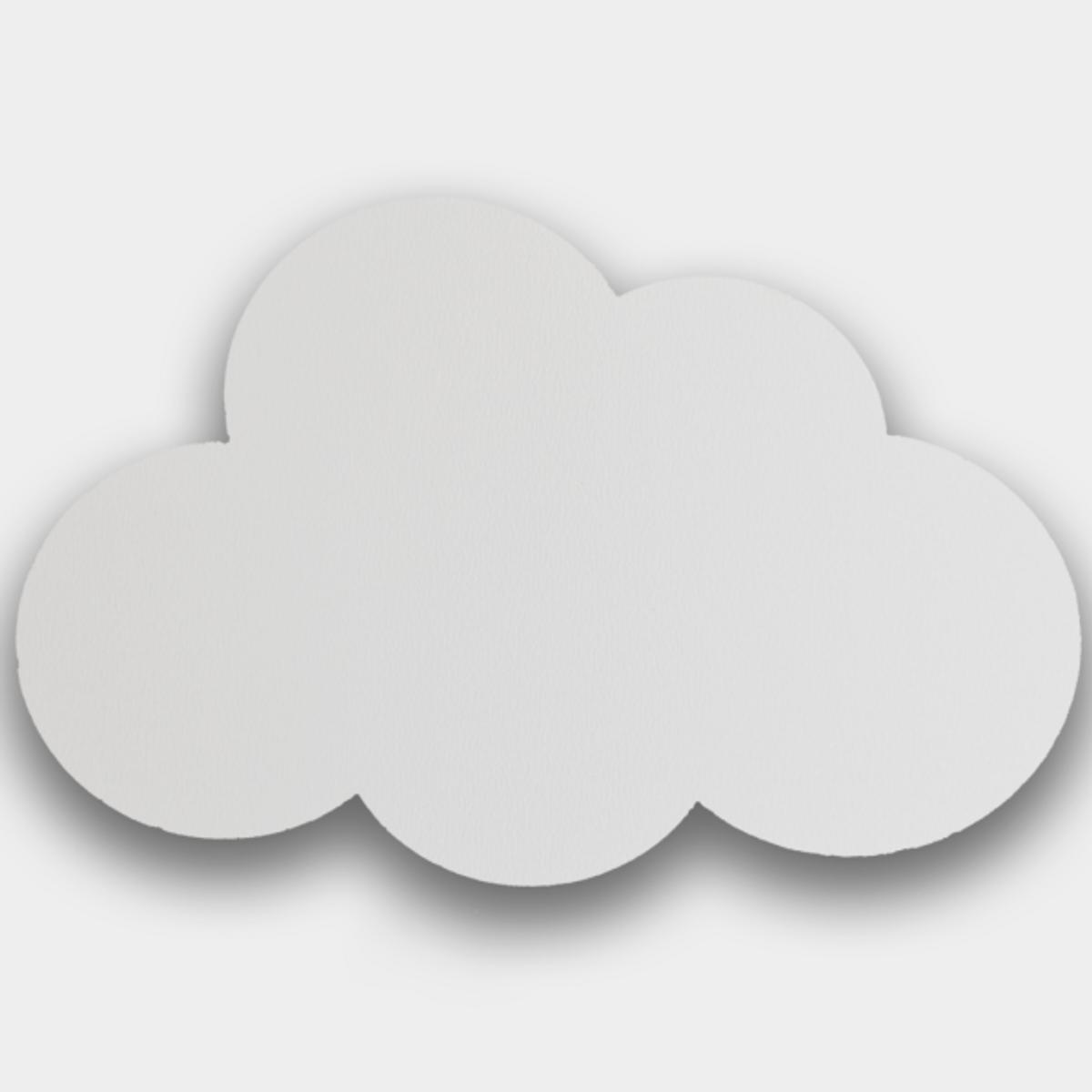 Knagg Cloud hvit