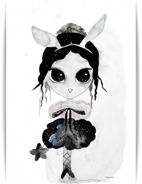 Bilde av Poster Ballerina 30x40cm